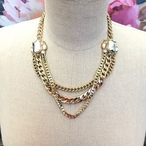 BANANA REPUBLIC Chain Reaction necklace NWT $129